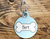 Dog name tag, pet name ta...
