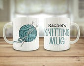 Knitting mug, Crochet mug...