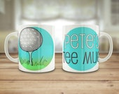 Golf mug, Personalised go...