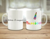 Mumicorn mug, pun unicorn...