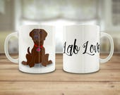 Labrador mug, Lab love mu...