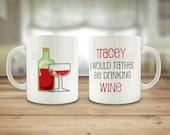 Red wine mug, White wine ...