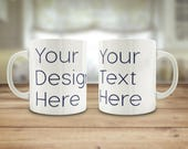 Custom mug, Logo mug, Pho...