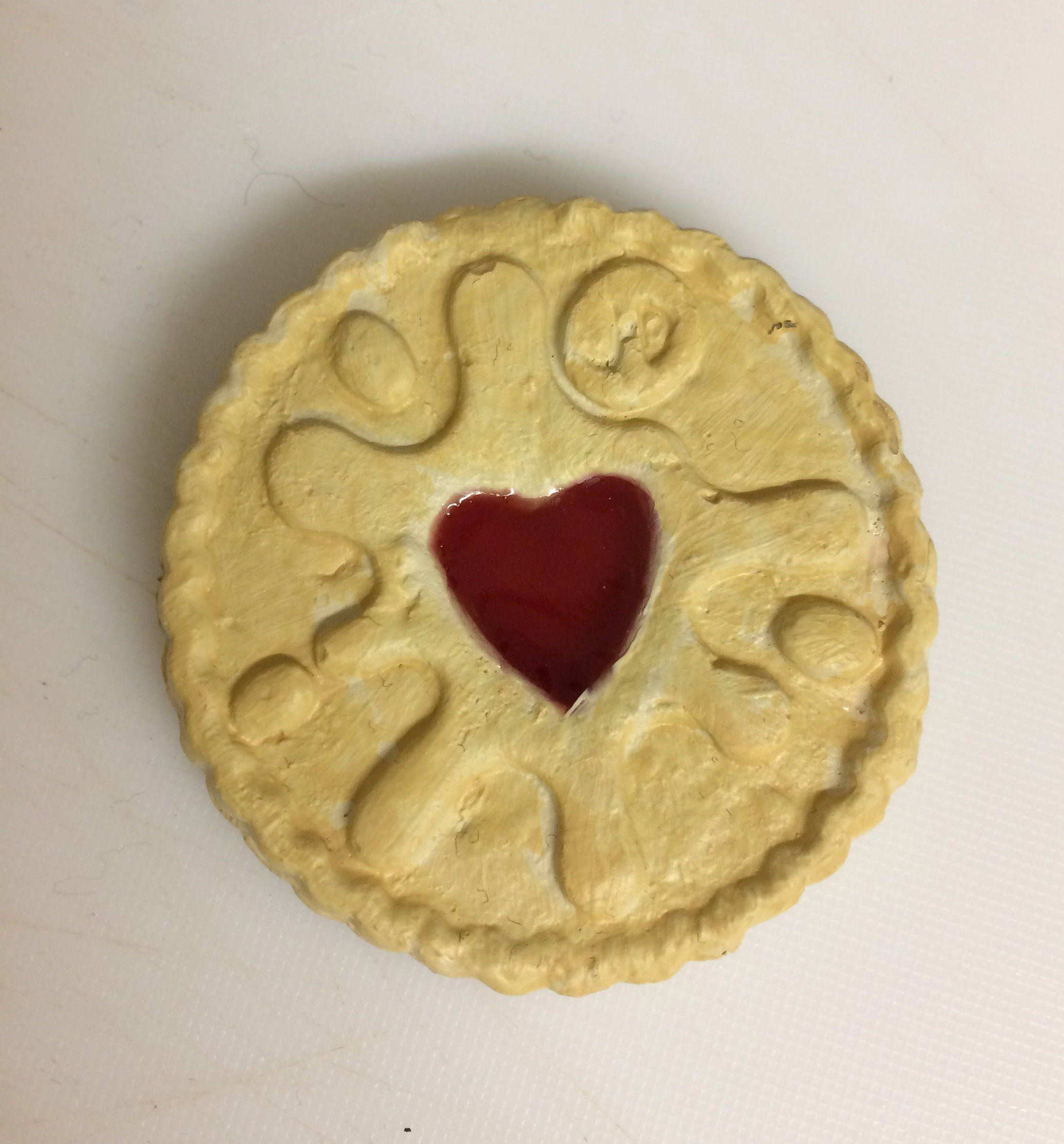 Handmade replica of a Jammie Dodger perfect Valentines\'s | Etsy