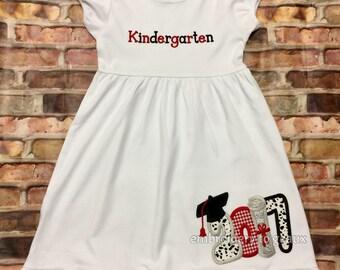 fa9c2e6fa89 Girls Graduation Dress Kindergarten Graduation Dress