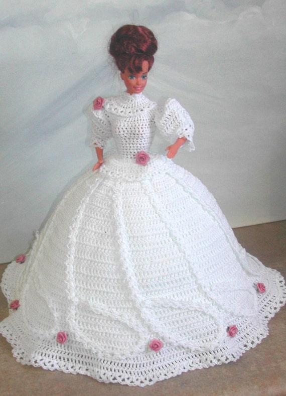 Crochet moda muñeca Barbie patrón 510 historia de amor | Etsy