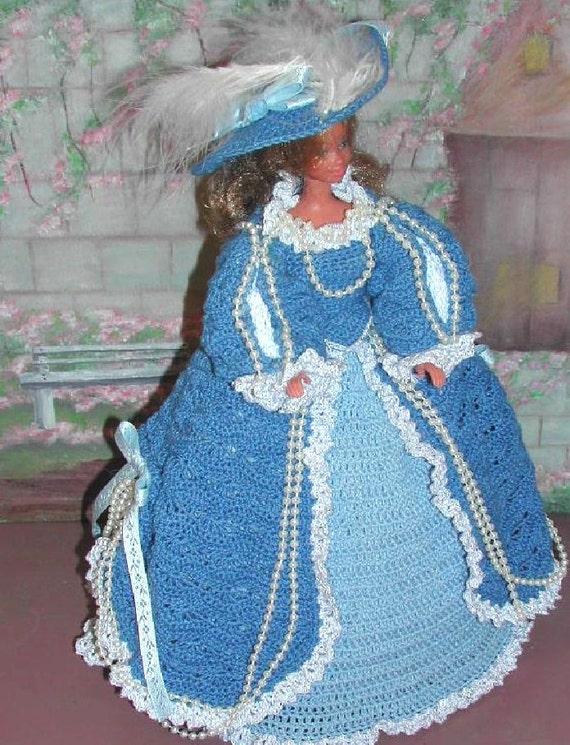 Häkeln Sie Mode Puppenkleid Barbie Pattern 77 RUBENS-1757 | Etsy