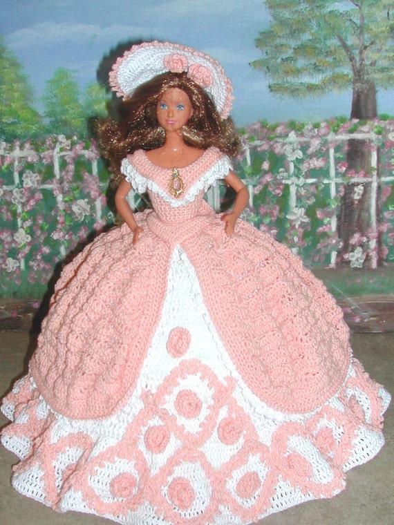 Häkeln Sie Mode Puppe Barbie Pattern 279 Nutzen Ball Etsy