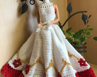 Crochet Barbie Dress