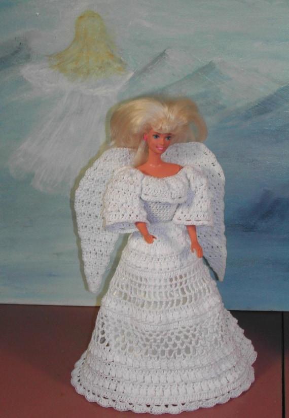 Häkeln Sie Mode Puppe Barbie Pattern 105 Engel des Friedens | Etsy