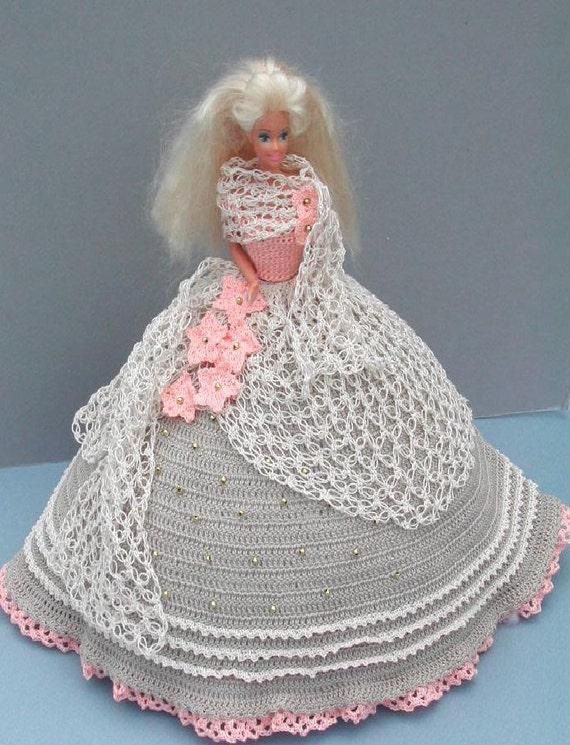 Häkeln Sie Mode Puppe Barbie Muster 2 antike Spitze | Etsy