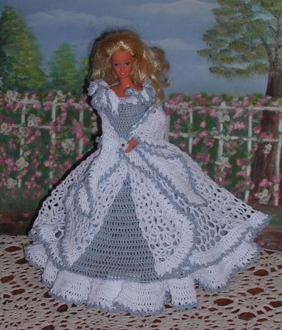 Häkeln Sie Mode Puppe Barbie Pattern 57 Garten Spaziergang Etsy