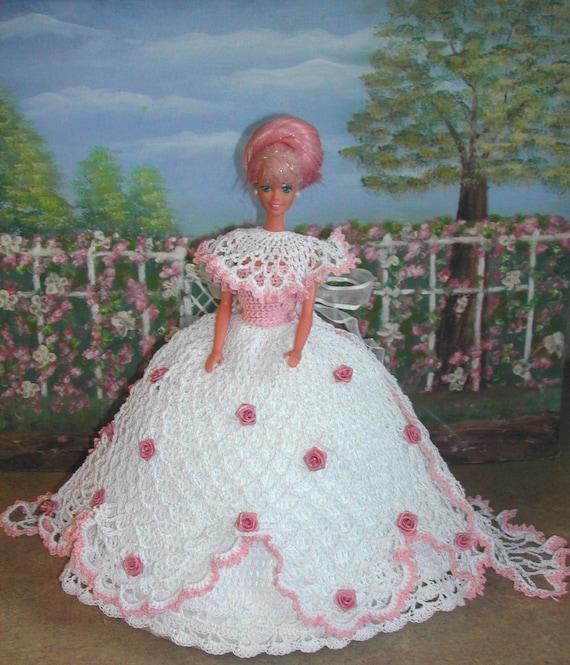 Haak Fashion Doll Barbie Patroon 402 Rose Bud Prinses 1 Etsy