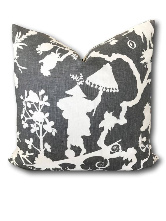 Pearl River Blues Decorative Pillow