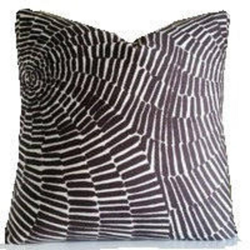 Geometric Pillow Trina Turk Pillow ONE Decorative  Pillow image 0