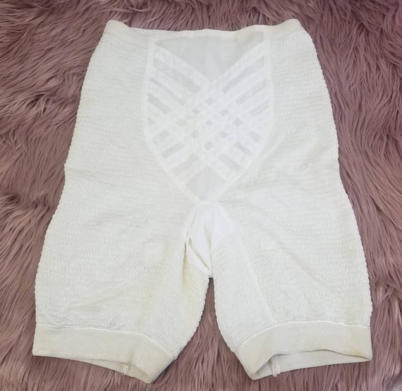 Vintage 40s 50s Girdle Shorts Soft Skin by Real Fo