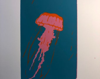 Jellyfish Print