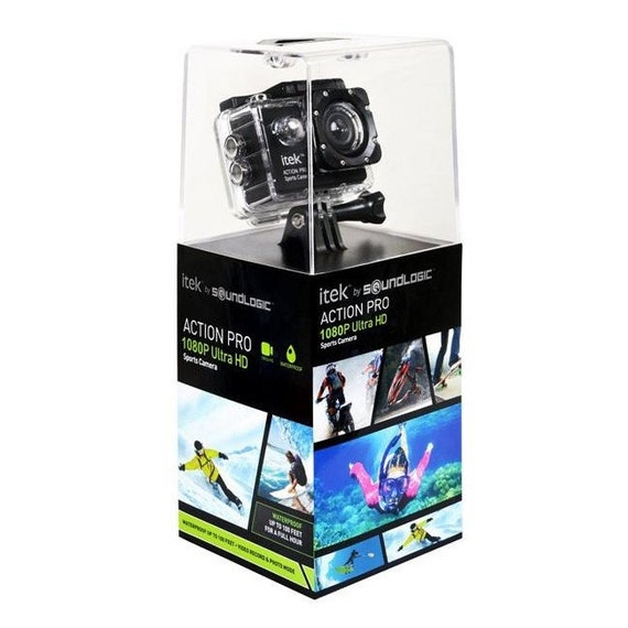 Soundlogic Action pro 1080p ultra hd Sports camera-Full HD action cam