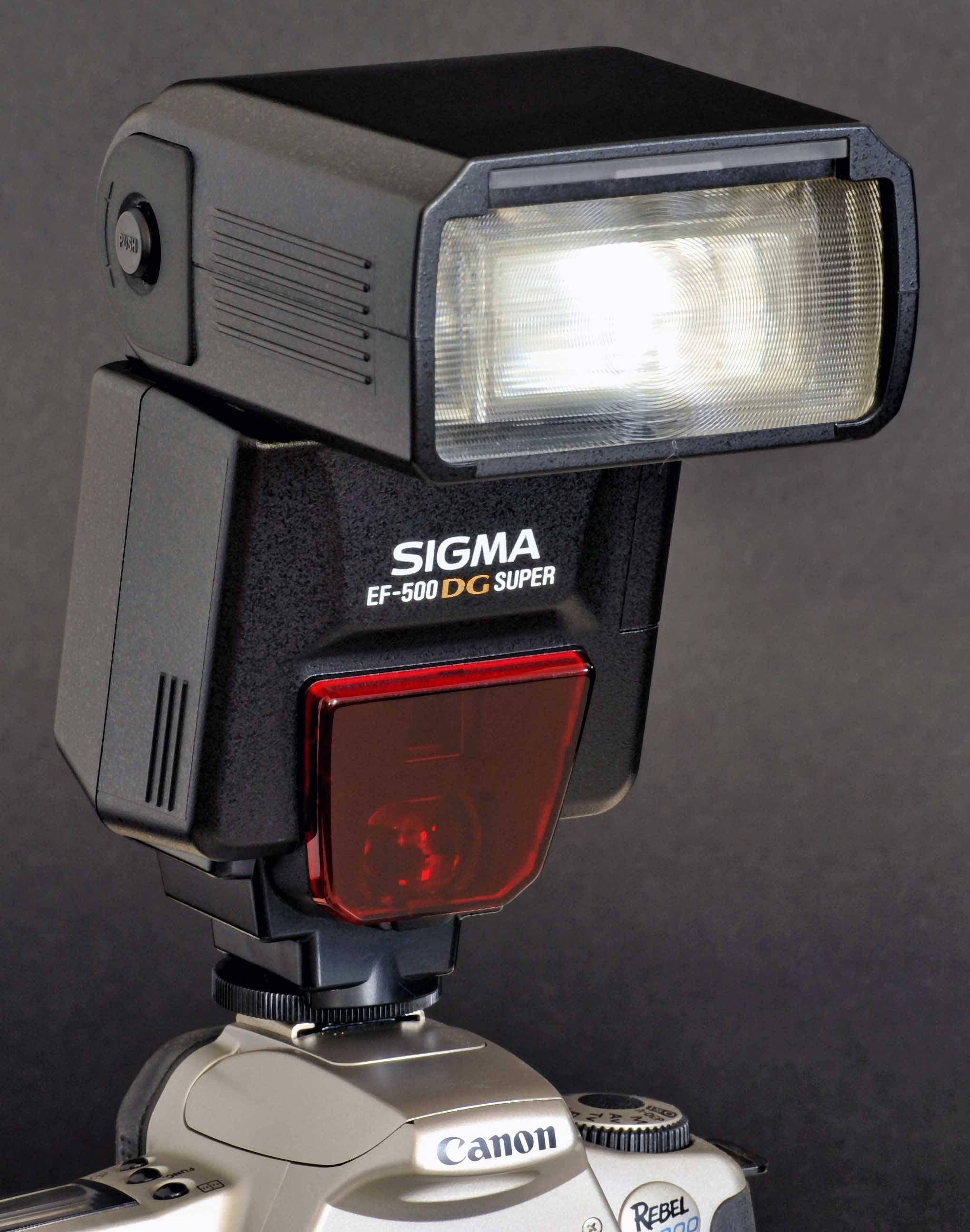 Sigma ef-500 dg super pa manuals.