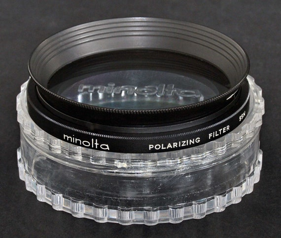 Minolta 72mm Polarizing Circular Glass Filter