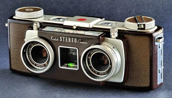 Kodak Stereo 35mm Camera W 35mm F 3 5 Anaston Lens Similar 2 Etsy