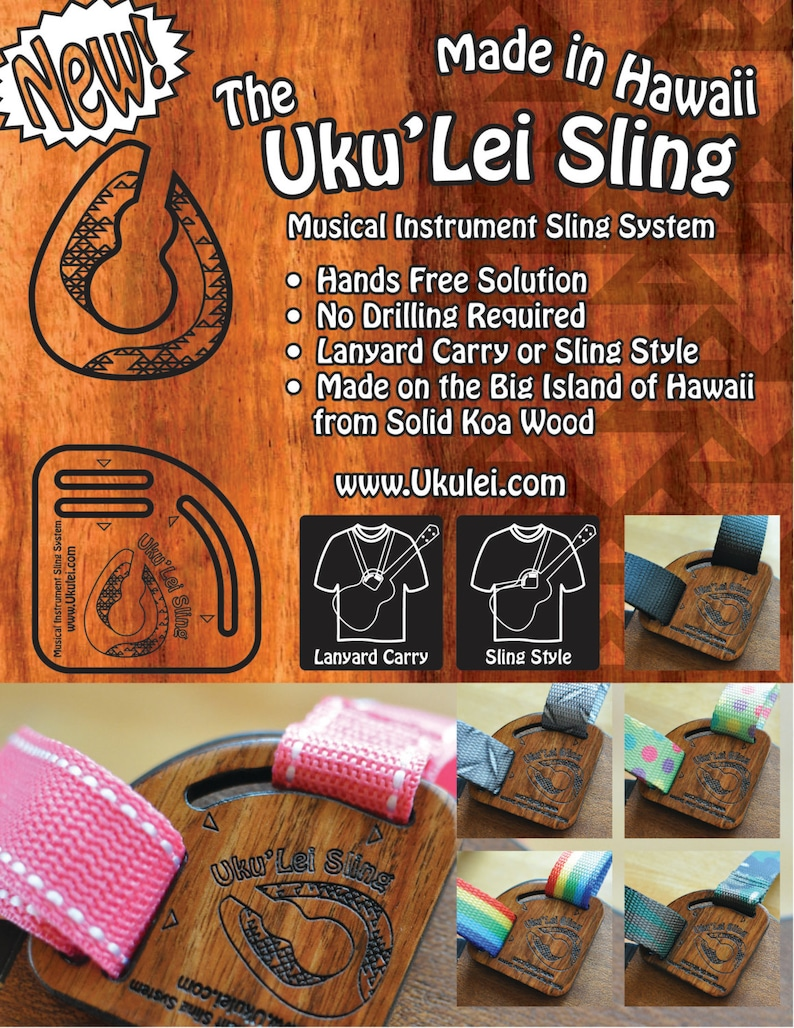 Uku'Lei Sling  The hands free no drill solution made on image 0