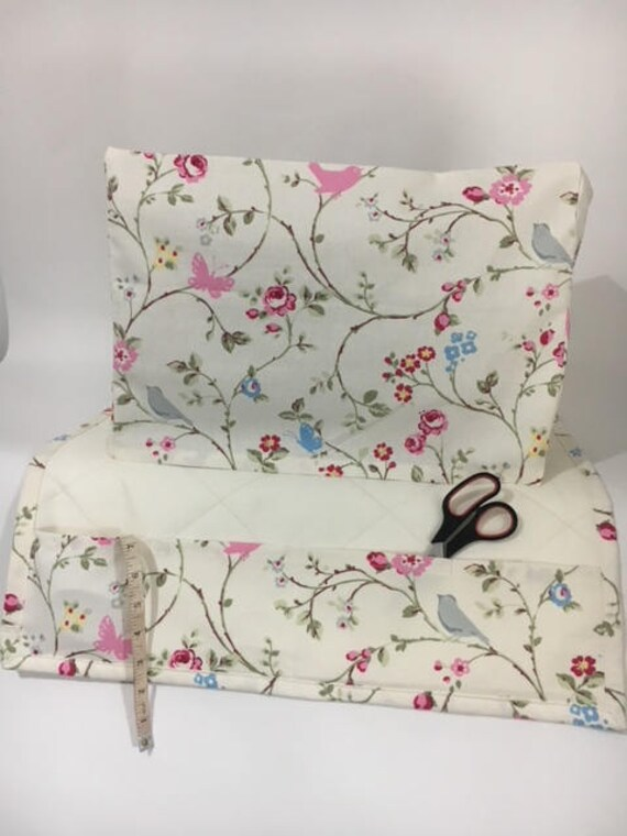 Sensational Clarke Clarke Bird Trail Fabric Sewing Machine Cover Dust Cover And Matching Mat Table Protector Spiritservingveterans Wood Chair Design Ideas Spiritservingveteransorg