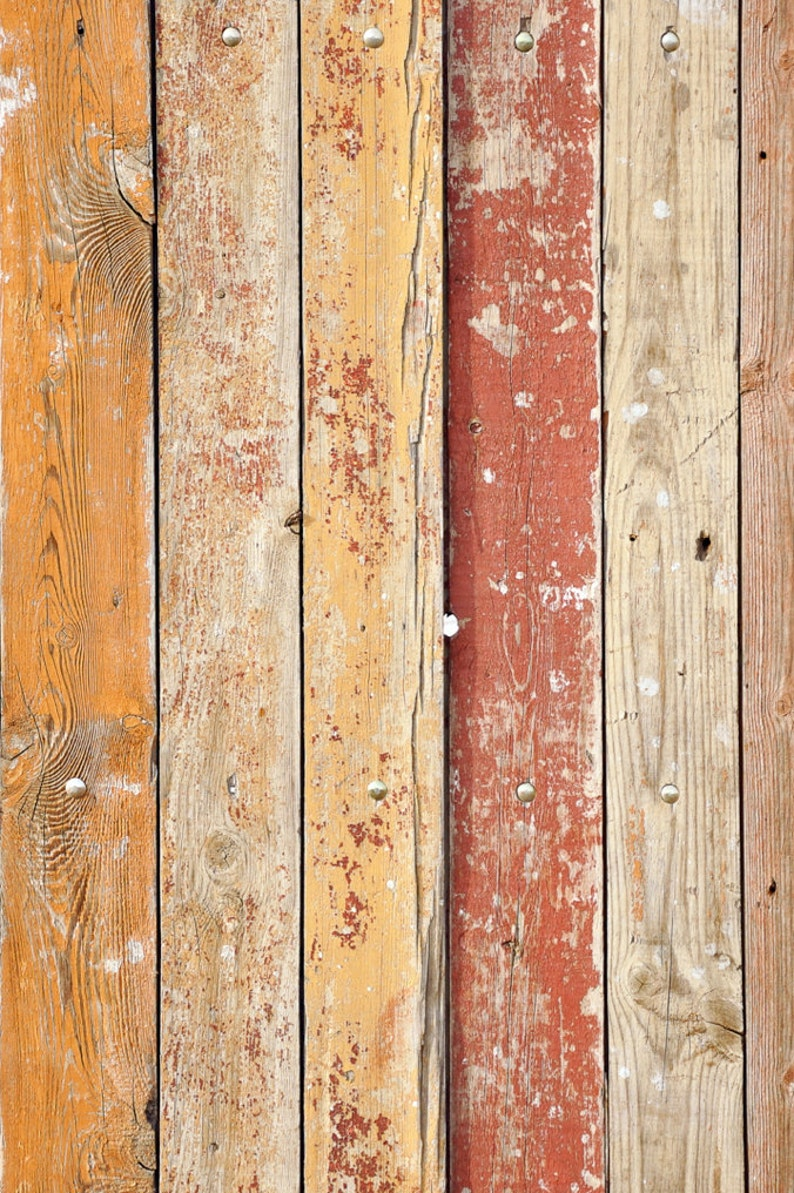 Floor Drop Backdrop Vintage Painted Weathered Wood Grain Planks Photo Background Photo Prop Multiple Sizes Available