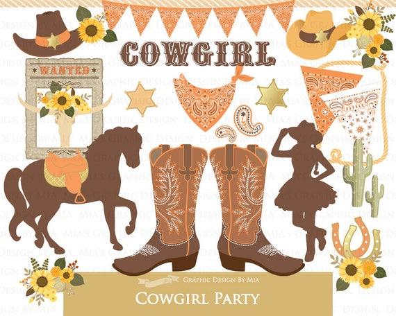 f9b89959ec8d6 Cowgirl Clip Art