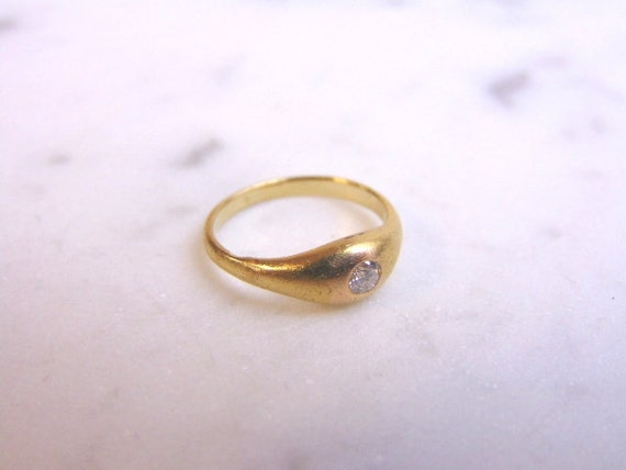 Womens Antique Bailey Banks Biddle 14k Gold Diamond Ring Etsy