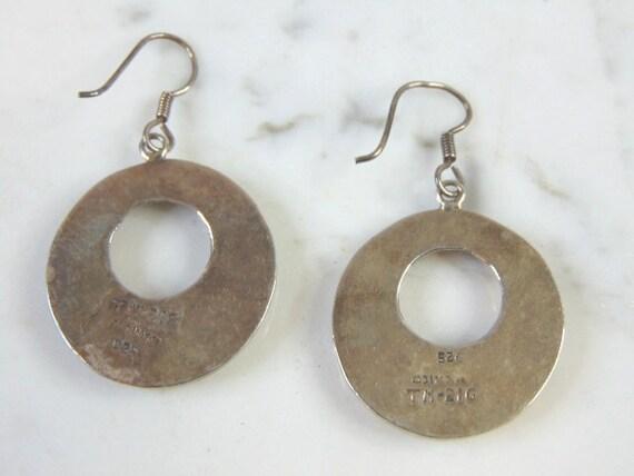 Womens Vintage Estate Sterling Silver ID Bracelet 11.4g E5848