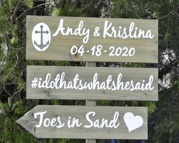 Rustic wedding direction sign. Hushtag wedding wood sign. rustic wedding decor