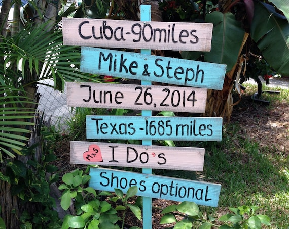 Gift for couples, Directional Wedding Sign, Rustic Wedding Decor, I Do's Shoes Optional, Beach Nautical Wedding Sign, Yard decoration
