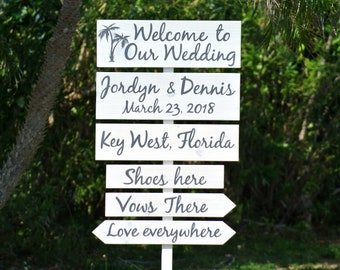 Welcome to our wedding wood sign. Rustic wedding decor. Newlywed  gift idea