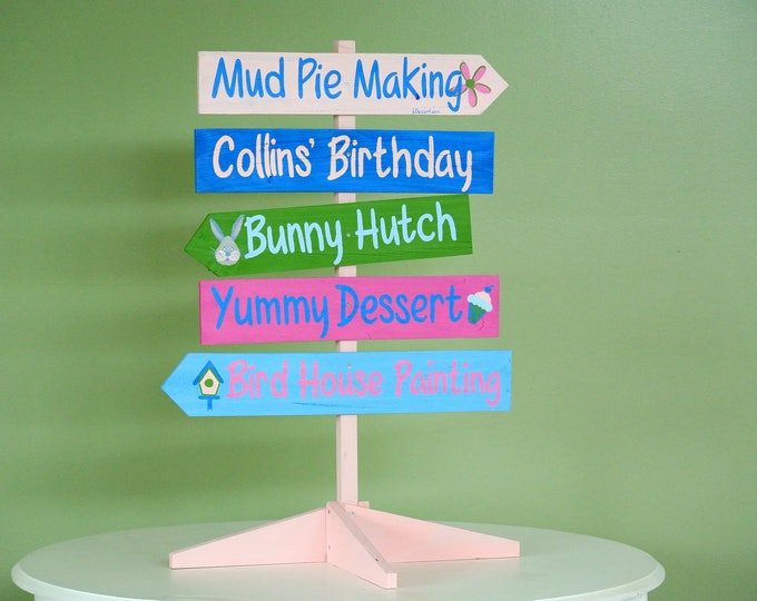 Gift for parents, Party Sign Wood, Event Table Decor, Party Wood Sign, Gift Idea for Friend, Friends Birthday Gift Custom