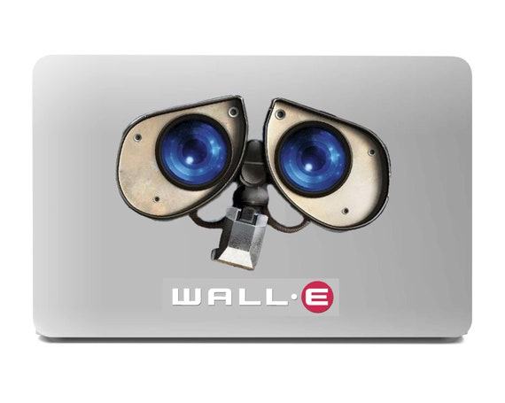Wall e laptop sticker. Car decal. Large 10 x 7 inches Waterproof