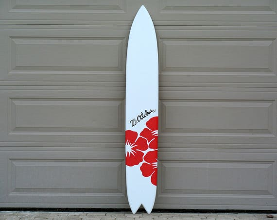 Aloha gift for her. Event Sign in wood board. Hawaiian decor for party outdoor.