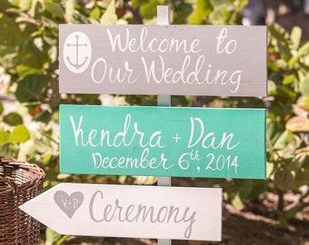 Welcome wedding sign wood. Newlywed gift  gift for couple