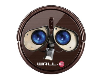 Wall e sticker for Robot Vacuum cleaner. Custom Personalized