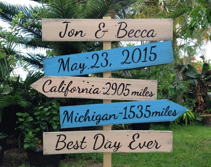 Gift for parents, Rustic Wedding Directional Location Sign, Best Day Ever Shoes Optional Ceremony Sign, Beach Wedding Decor, Unique gift