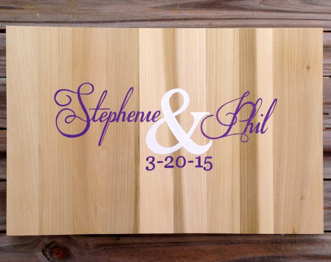 Wedding Guestbook Wood Sign with Decorative Pen, Wedding Guest book Ideas, Alternative Guest Book