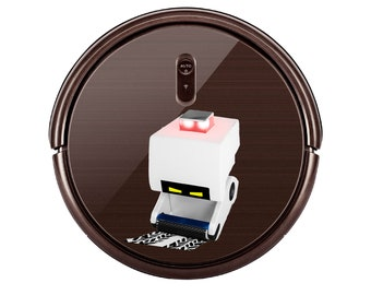 M-O Wall e sticker for Robot Vacuum cleaner. Custom Personalized