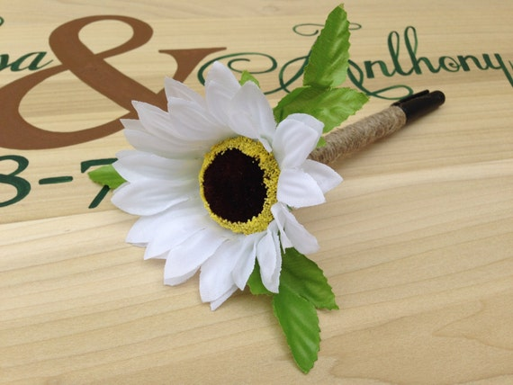 Decorative Guest Book Pen, Guestbook Pen