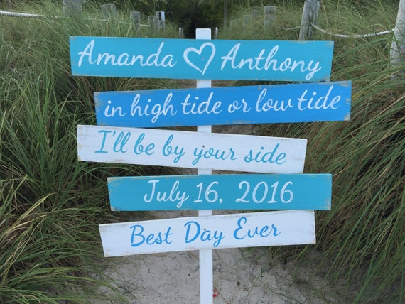 Gift for mom. Best day ever beach wooden sign. Gift for Couple signage for wedding. Nautical Wedding Wood Decor. Yard decoration sign