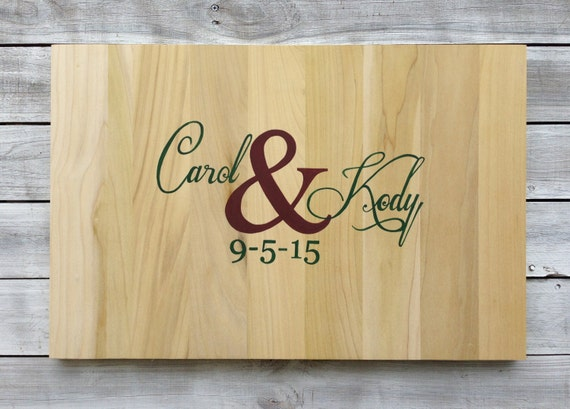 Wedding Guestbook Alternative Wood Sign, Rustic Guestbook Ideas. Decorative Sharpie Pen