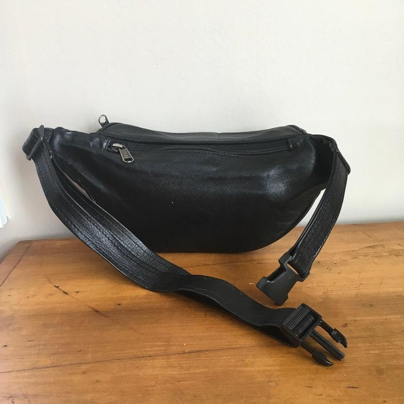 Vtg Leather Fanny Pack Bumbag