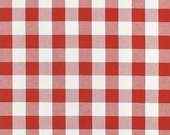 Red Buffalo Check Custom Drapery Red White Gingham Curtain Panel Lined Drapes Blackout Lining Rod Pocket Panels French Country Drape