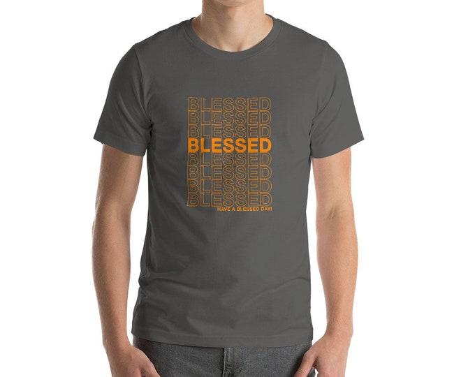 Blessed Men's Short-Sleeve Unisex T-Shirt