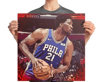 Embiid Photo paper poster