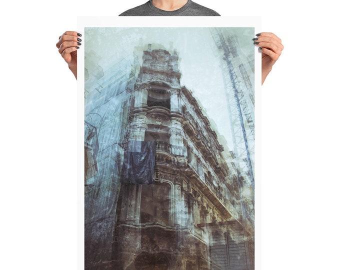 Urbex Photo paper poster